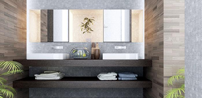 Volledig afgewerkte badkamer - Afgewerkt-schrijnwerk