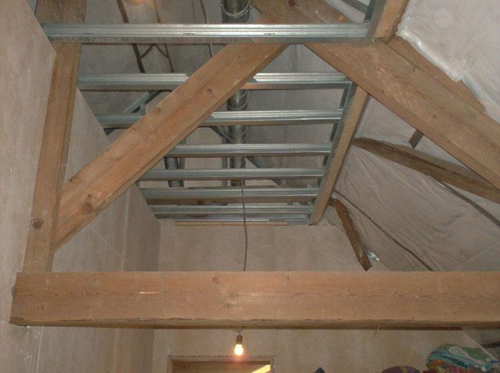 Wanddecoratie beste inspiratie voor huis ontwerp - Houten lambrisering plafond badkamer ...